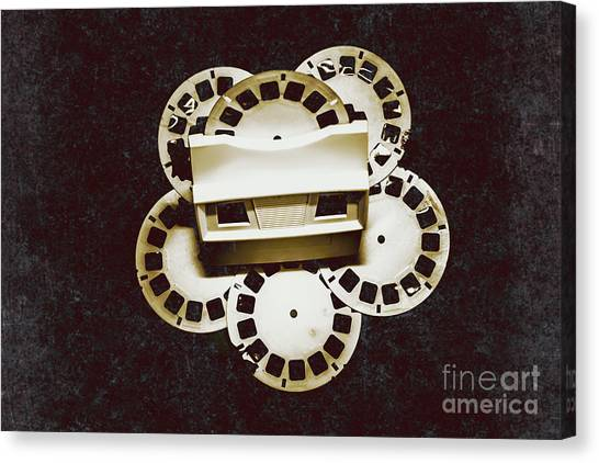 Projection Canvas Print - Vintage Film Toy by Jorgo Photography - Wall Art Gallery