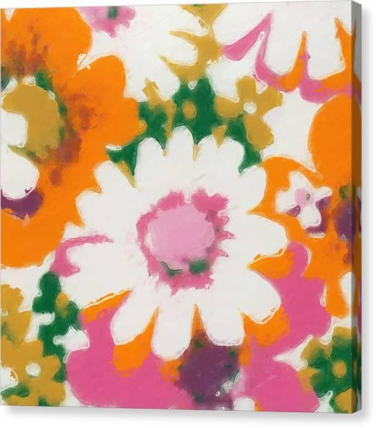 Canvas Print - Vintage Flower 430 by Modern Art
