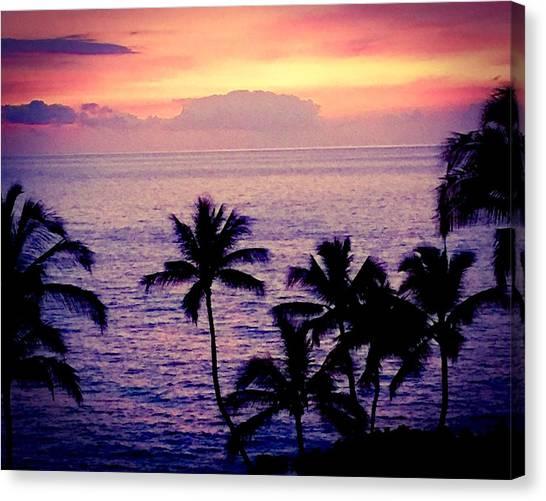 Vintage Hawaii Canvas Print
