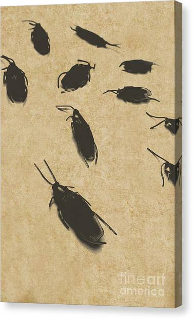 Wooden Floor Canvas Print - Vintage Infestation by Jorgo Photography - Wall Art Gallery