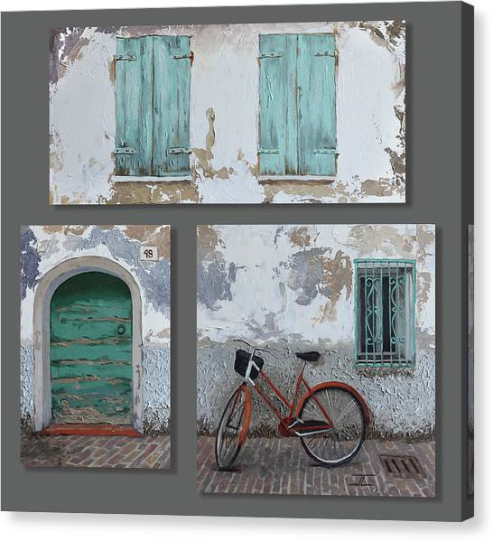 Vintage Series All 3 In 1 Canvas Print