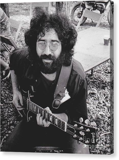 The Legion Canvas Print - Vintage Jerry Garcia by Pd