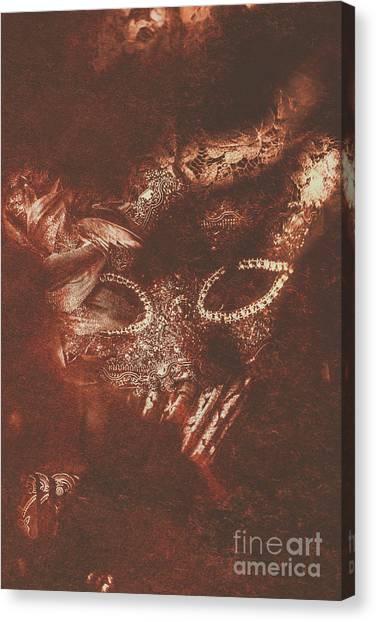 Masquerade Canvas Print - Vintage Masquerade by Jorgo Photography - Wall Art Gallery