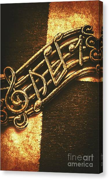 Concerts Canvas Print - Vintage Melody by Jorgo Photography - Wall Art Gallery