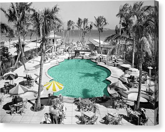 Vintage Miami Canvas Print
