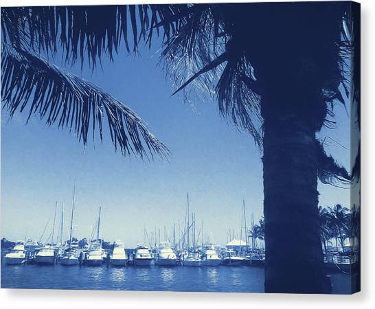 Vintage Miami Canvas Print by JAMART Photography