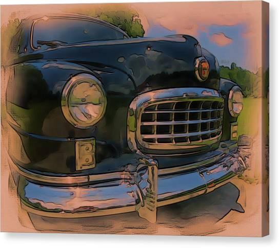 Vintage Nash Canvas Print