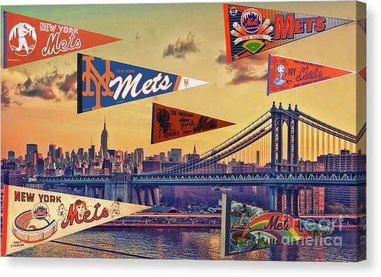 Vintage New York Mets Canvas Print