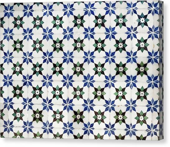 Vintage Portuguese Tiles Canvas Print