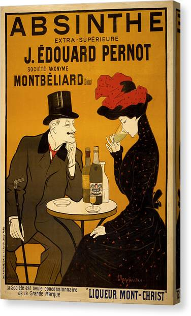 Vintage Poster 2 Canvas Print