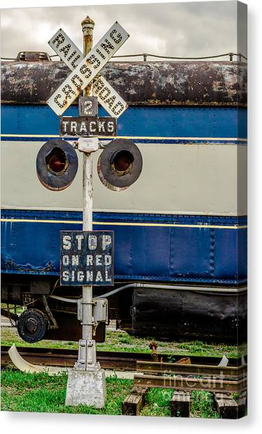 Railroad Crossing Signal Canvas Prints (Page #3 of 5) | Fine Art America