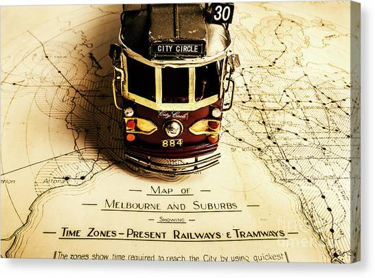 Carriage Canvas Print - Vintage Railways And Tramways by Jorgo Photography - Wall Art Gallery