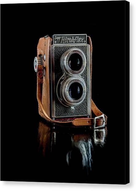 Vintage Ricohflex Camera Canvas Print