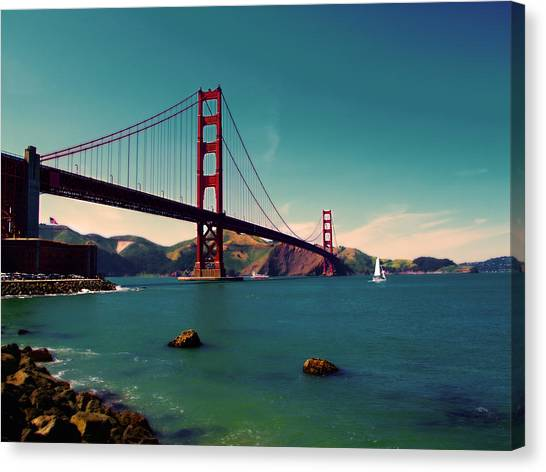 Vintage San Francisco Canvas Print