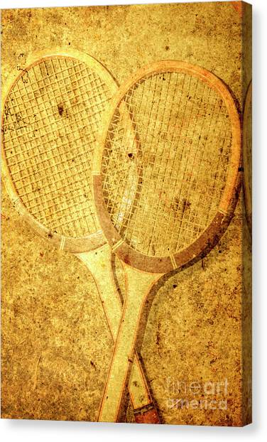 Tennis Racquet Canvas Print - Vintage Sports by Jorgo Photography - Wall Art Gallery