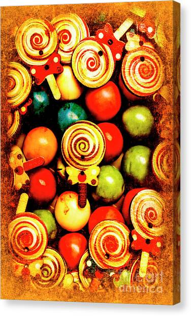 Traditional Canvas Print - Vintage Sweets Store by Jorgo Photography - Wall Art Gallery