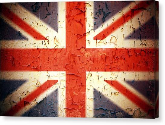 Vintage Union Jack Canvas Print