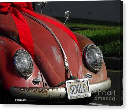 Vintage Volkswagen Canvas Print