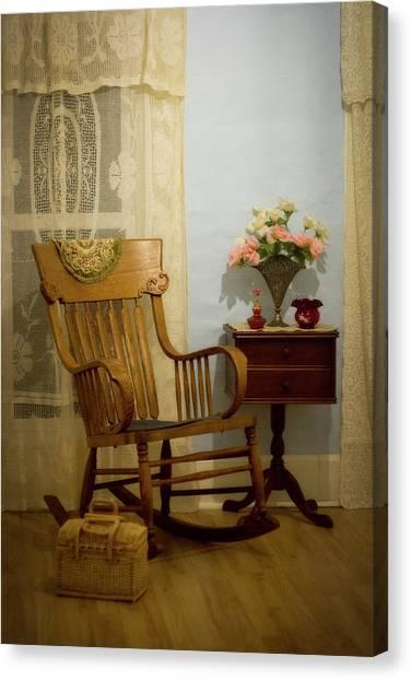 Viola's Room Canvas Print