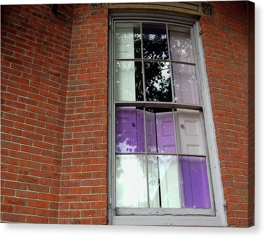 Violet Panes Canvas Print by JAMART Photography