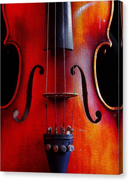 Violin # 2 Canvas Print
