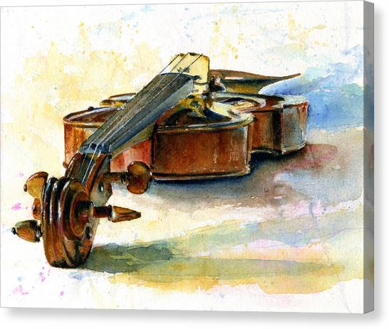 Violin 2 Canvas Print