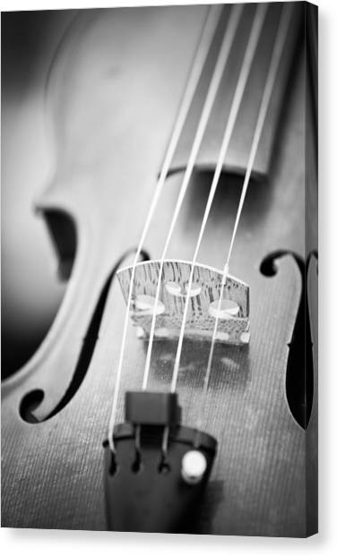 Violins Canvas Print - Violin  by Edward Myers