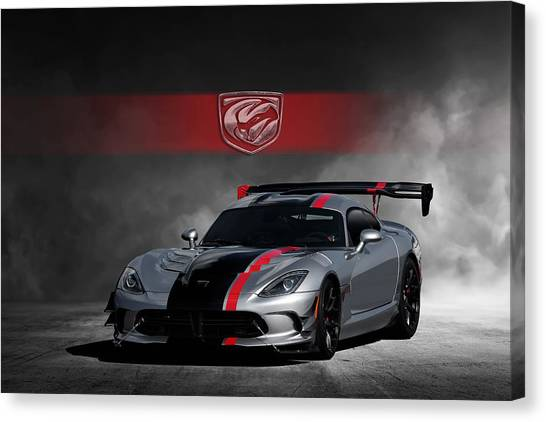 Vipers Canvas Print - Viper by Peter Chilelli