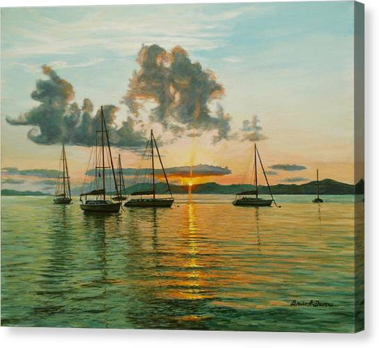 Virgin Islands Canvas Print by Bruce Dumas