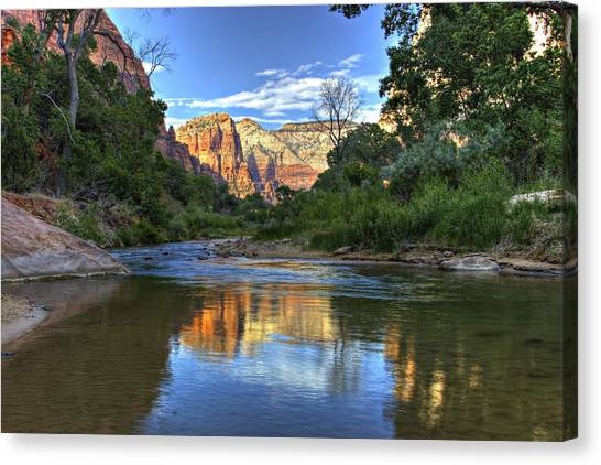 Virgin River Canvas Print