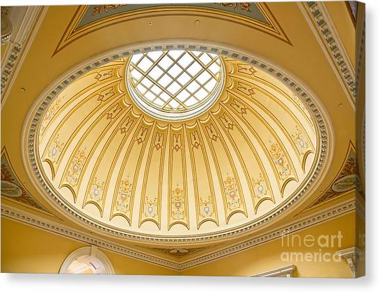 Virginia Capitol - Dome Profile Canvas Print