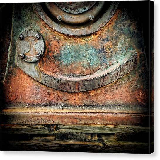 Virginia City Rust Canvas Print