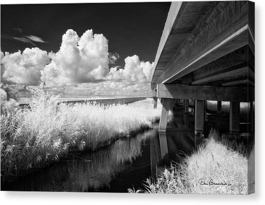 Virginia Dare Bridge 6303 Canvas Print by Dan Beauvais