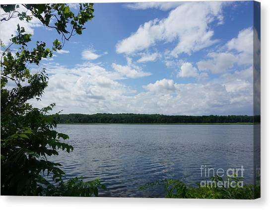 Virginia Lake Canvas Print