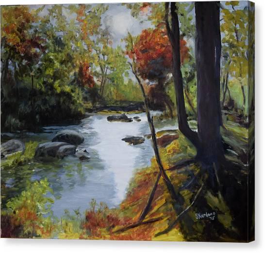 Virginia Lovely Stream Canvas Print
