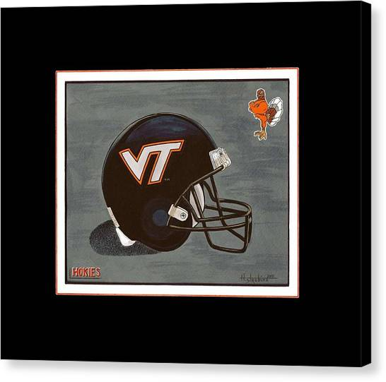 Virginia Tech T-shirt Canvas Print