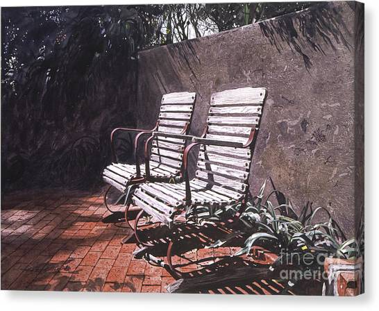 Beverly Hills Canvas Print - Virginia's Repose by David Lloyd Glover