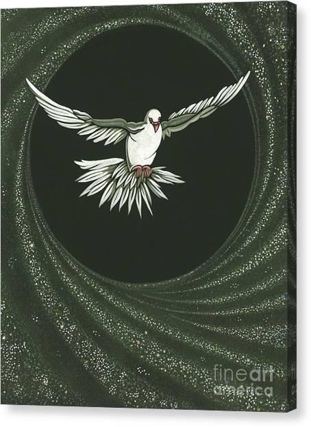 Viriditas-holy Spirit Detail Canvas Print