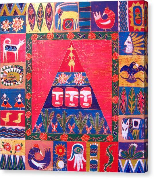 Vision Of Mexico Canvas Print by Aliza Souleyeva-Alexander