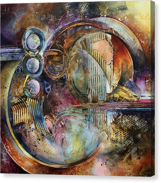 Dimensional Canvas Print - 'visions Of Eight' by Michael Lang