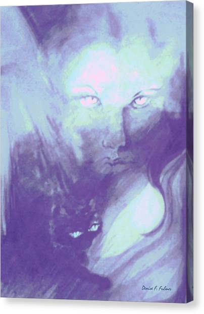 Visions Of The Night Canvas Print