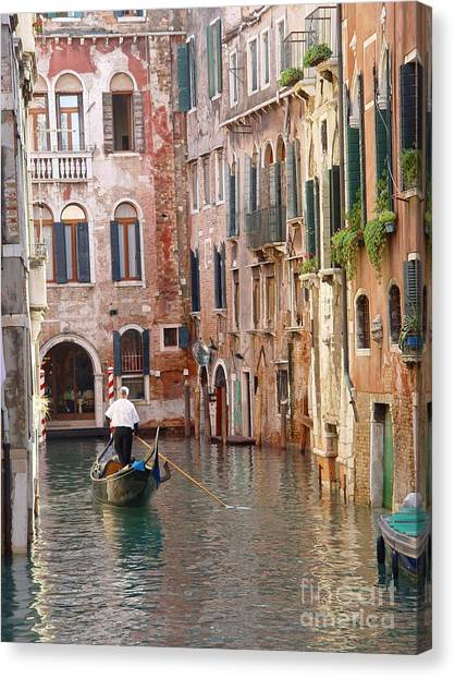 Visions Of Venice 2. Canvas Print