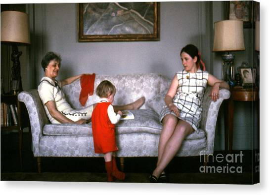 Visiting Mildred Canvas Print