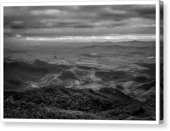 Vista Do Mirante-pico Do Itapeva-pindamonhangaba-sp Canvas Print