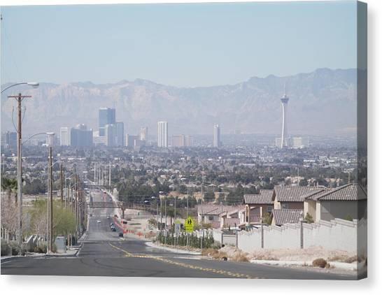 Vista Vegas Canvas Print