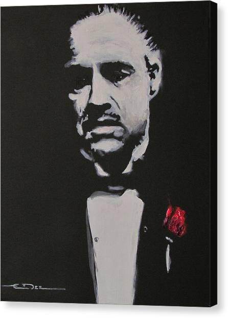 Vito Andolini Corleone Canvas Print