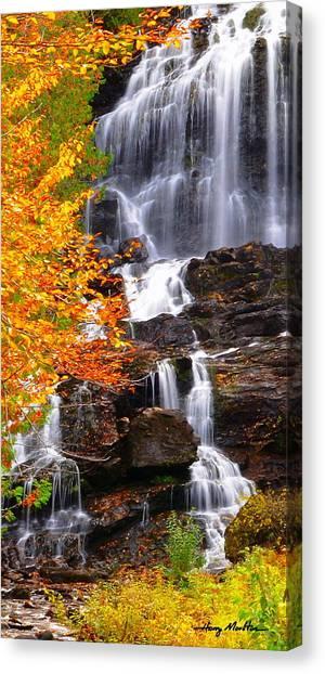 Vivid Falls Canvas Print
