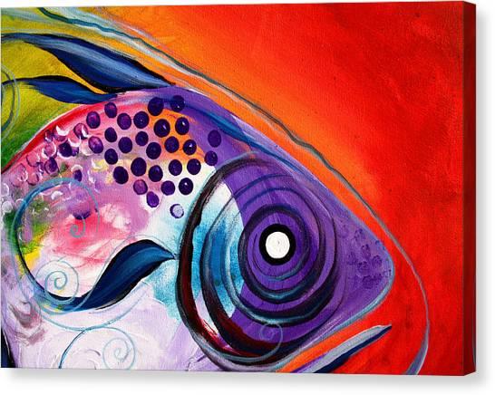 Vivid Fish Canvas Print