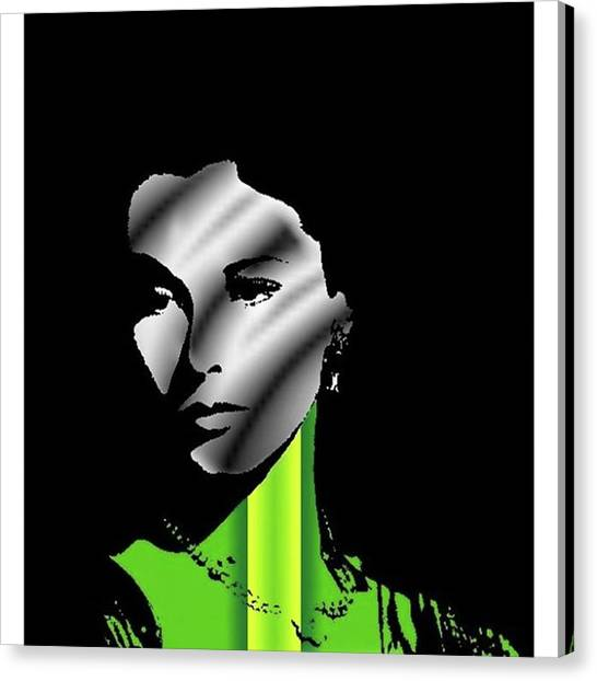 Oscars Canvas Print - Vivien Leigh #vivienleigh #actress by Emme Pons
