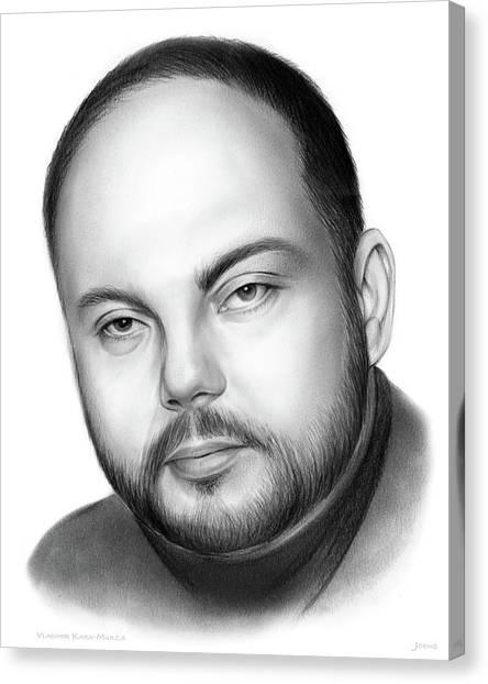 Russia Canvas Print - Vladimir Kara-murza  by Greg Joens